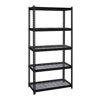iron-horse-2300-series-riveted-steel-wire-deck-shelving-system-5-shelf-unit-36-w-x-18-d-x-72-h