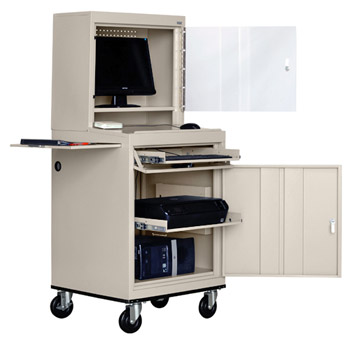 jg6625-mobile-computer-security-cabinet-w-slide-out-shelf-26-w-x-24-d-x-63-h