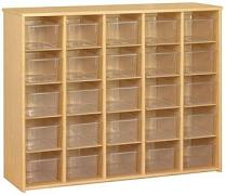 3037a-eco-25cubby-storage-unit-w-clear-trays