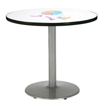 mode-round-cafe-dry-erase-tables-w-round-silver-base-by-kfi