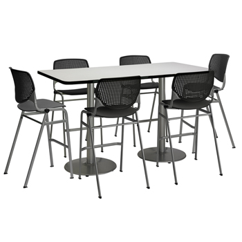 tr3672ra-b19225slbr2300-sl-silver-base-cafe-table-with-six-kool-barstools-36-x-72-rectangle