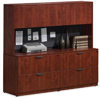 Office File Cabinets and Storage Hutch