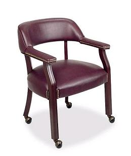llr60601-traditional-captain-chair-w-casters