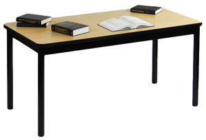Correll Library Reading Tables