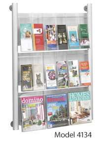 Luxe Magazine Racks by Safco Products