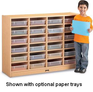 06250jc011-maplewave-24-paper-tray-cubbie-w-peper-trays