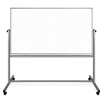 mobile-magnetic-double-sided-ghost-grid-whiteboard-by-luxor