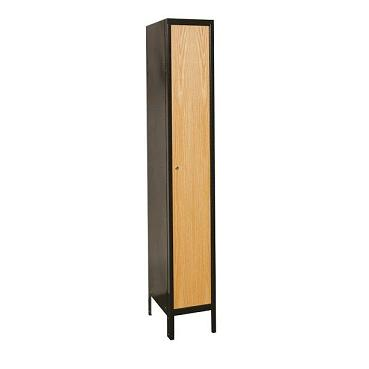 uw1288-1a-mew-metal-wood-hybrid-single-tier-1-wide-locker-assembled-12-w-x-18-d-x-72-h