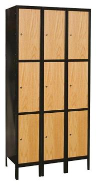 metal-wood-hybrid-triple-tier-3-wide-locker-by-hallowell