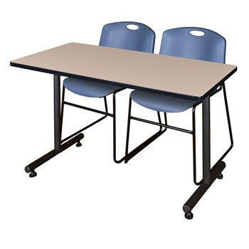 mktrct7230xx44zz-kobe-training-table-and-3-zeng-stack-chairs-72-x-30