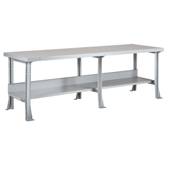 mlb-1116-heavy-duty-industrial-steel-bench-96-x-30-with-2-steel-top