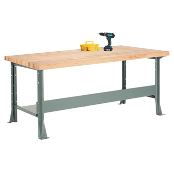 mlb-4314-heavy-duty-industrial-steel-bench-60-x-30-with-2-34-maple-top