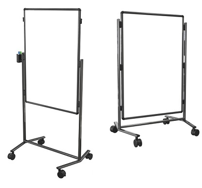 b795ac-ww-modifier-xv-height-adjustable-easel-melamine-melamine-black-frame