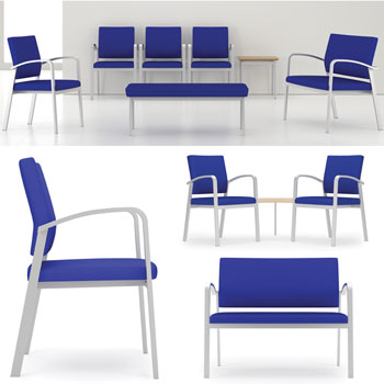 Lesro Newport Series Reception Seating