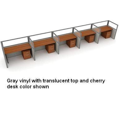 t1x54760p-rize-series-privacy-station-1x5-configuration-w-translucent-top-47-h-panel-5-w-desk