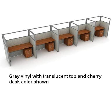 t1x56360p-rize-series-privacy-station-1x5-configuration-w-translucent-top-63-h-panel-5-w-desk