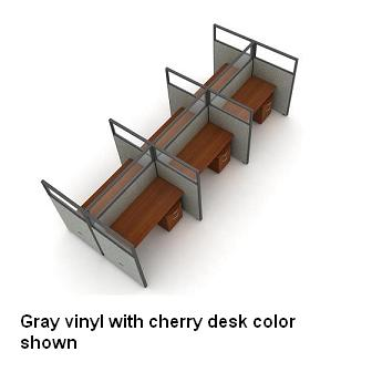 t2x36348v-rize-series-privacy-station-2x3-configuration-w-full-vinyl-63-h-panel-4-w-desk