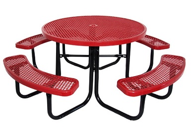 budget-saver-round-outdoor-picnic-tables-by-caprock-furniture