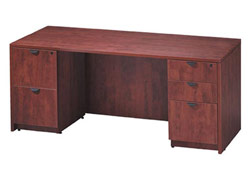 ofd-7124fp-kneespace-credenza-with-double-full-pedestal-71-x-24