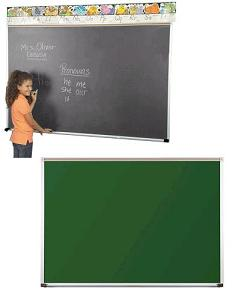 104ab-2-x-3-green-porcelain-steel-chalkboard-with-1-map-rail