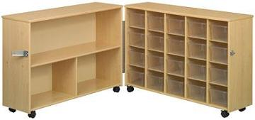 3049a-eco-20cubby-mobile-folding-storage-unit-with-clear-trays