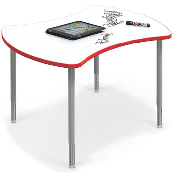 quad-desk-with-dry-erase-top-by-balt