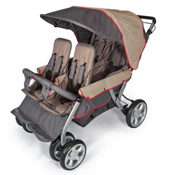 4140167-quad-lx-stroller-taupe-and-red