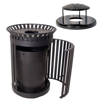 cl-36rb-rain-bonnet-top-wilmington-outdoor-trash-receptacle