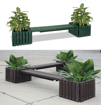 recycled-plastic-bench-with-planters-by-ultraplay