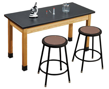 acid-resistant-science-lab-table-black-stool-sets-by-national-public-seating