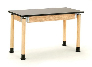 pslt2454ah-adjustable-height-science-table-with-phenolic-top-54-x-24