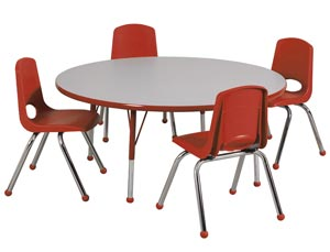 All Package Preschool Round Activity Table Amp Chair Sets