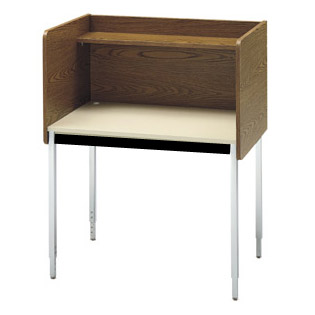 01285-24dx36wx46h-2429-adj-height-single-unit-medium-oak-study-carrel