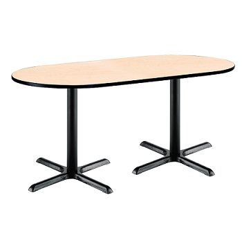 racetrack-caf-tables-w-black-x-base-by-kfi