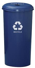 101dt-tall-metal-recycling-container-round-top