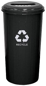 101st-tall-metal-recycling-container-slotted-top