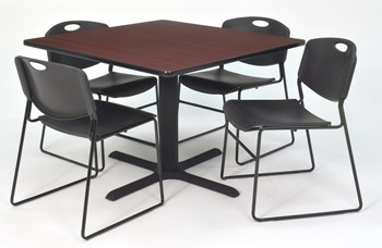cain-base-cafe-table-and-four-zeng-4400-chairs-by-regency