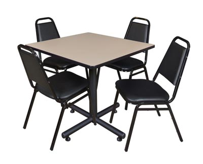 package-deal-cafe-table-and-4-vinyl-stacker-chairs-by-regency