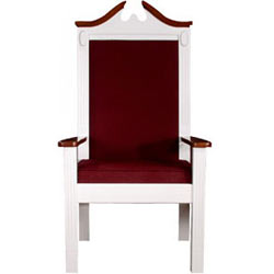 tpc603s-48hx25wx20d-fabric-seat-and-back-white-wlight-oak-trim-colonial-style-side-pulpit-chair