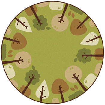 33750-tranquil-trees-kidsoft-rug-6-round-green