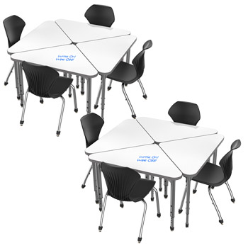classroom-set-8-triangle-apex-dry-erase-desks-chairs-by-marco-group