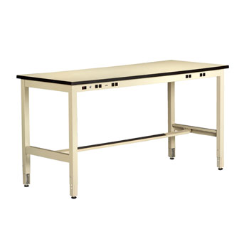 makerspace-workstation-with-adjustable-legs-power-rail-by-tennsco