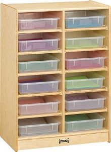06130jc-12-paper-tray-cubbie-with-clear-trays