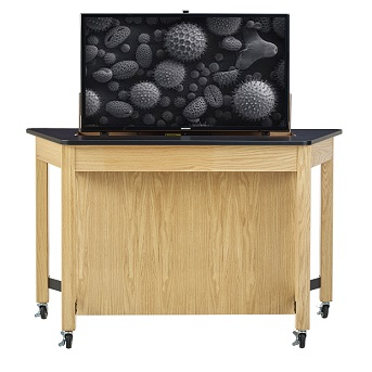 media-trapezoid-table-w-tv-mount-by-diversified-woodcrafts