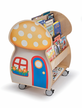 wb3131-mushroom-house-book-display