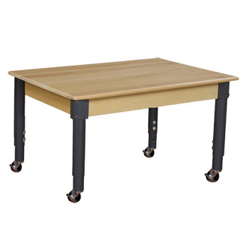 mobile-hardwood-table-with-adjustable-legs-36-x-24-rectangle
