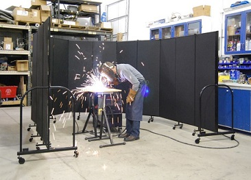 Screenflex Portable Welding Screens 7 4 Quot