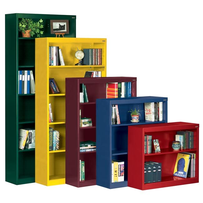 metal-bookcases-by-sandusky-lee