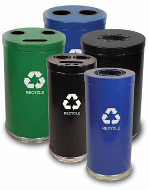 Recycle bins for your church