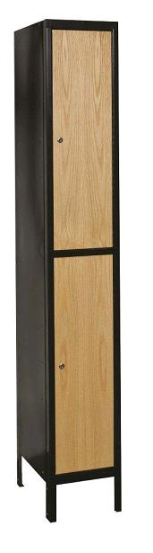 metal-wood-hybrid-double-tier-1-wide-locker-by-hallowell